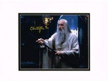 Christopher Lee Autograph Signed Photo - Saruman